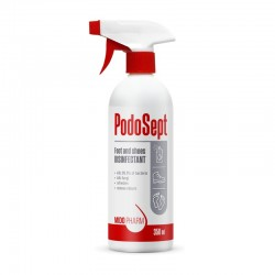 Foot and shoes disinfectant...